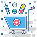 chemist, ecommerce, epharmacy, medicine, medicines, online, pharmacy icon