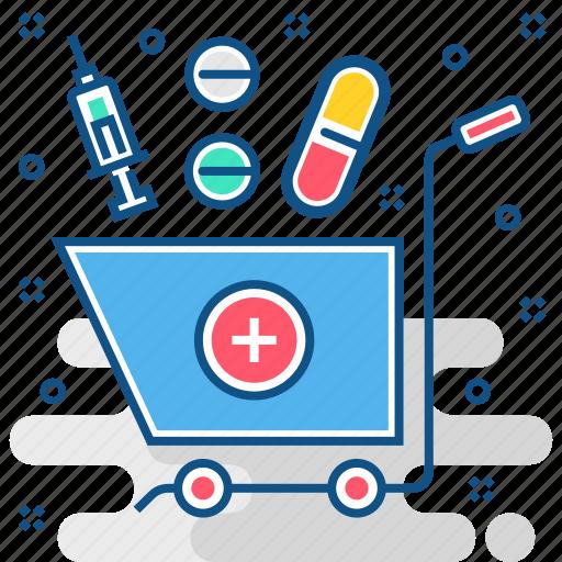 chemist, ecommerce, epharmacy, medicine, medicines, online, pharmacy icon