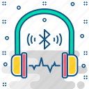 audio, bluetooth, headphone, headphones, headset, speaker icon