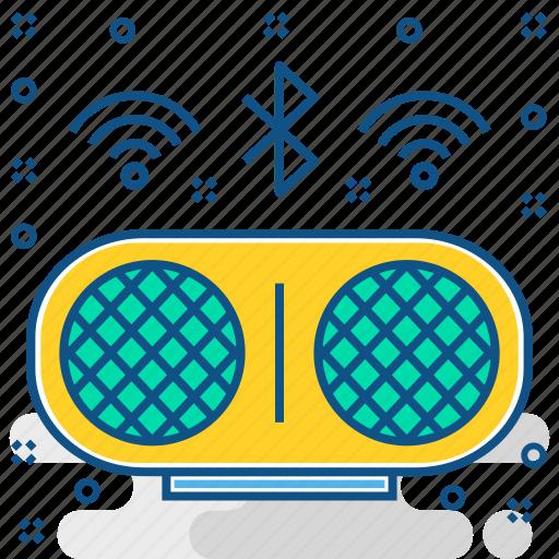 audio, bluetooth, multimedia, music, sound, speaker, volume icon
