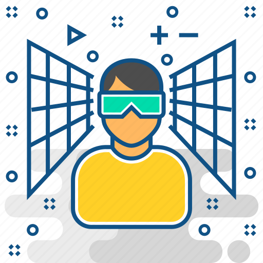 device, gadget, reality, screen, technology, virtual, vr icon