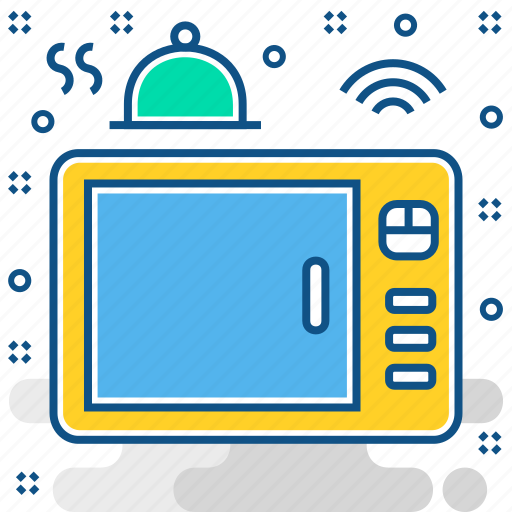 appliance, electronics, gadget, microwave, smart, technology icon