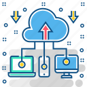cloud, computing, network, server, service, storage icon