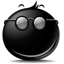 secret, smile icon