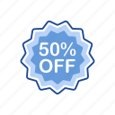 badge, discount, on sale, sale icon