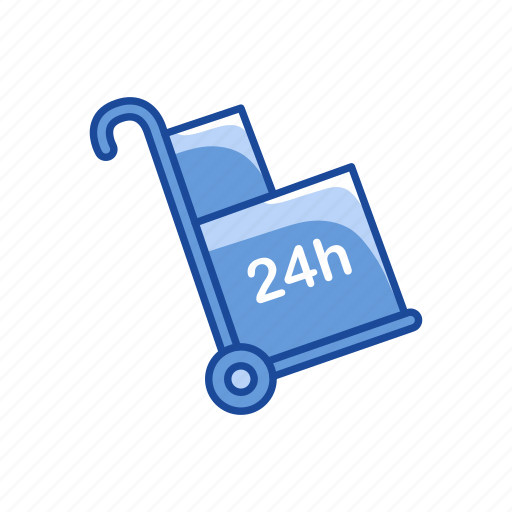 Cart, push cart, truck, dolly icon - Download on Iconfinder