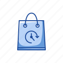 bag, paper bag, shopping, shopping bag icon