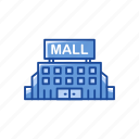 building, mall, shopping center, shopping mall