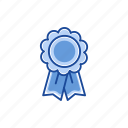 award, best seller, favorite, ribbon icon