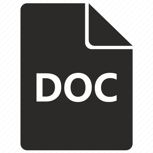 doc, document, file, format, text icon