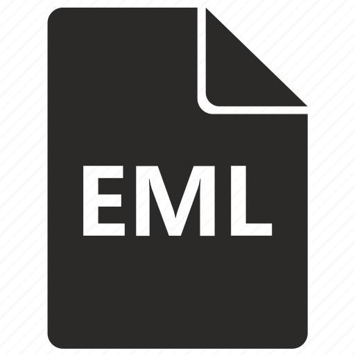 document, eml, file, format, mail, sheet icon