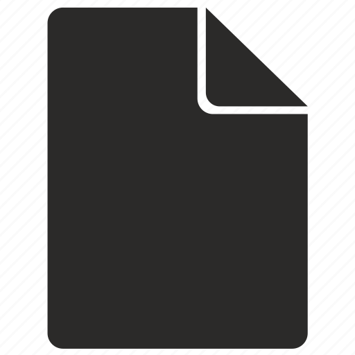 document, empty, file, format, new, paper, sheet icon