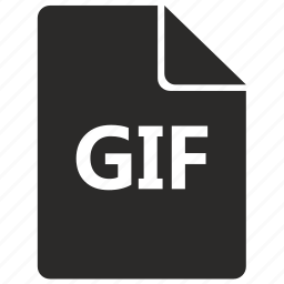 document, file, format, gif, graphic icon