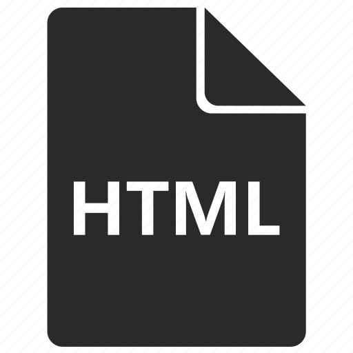 file, format, html, hyper, internet, markup, page icon