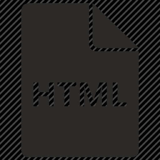 File, format, html, hyper, internet, markup, page icon - Download on Iconfinder