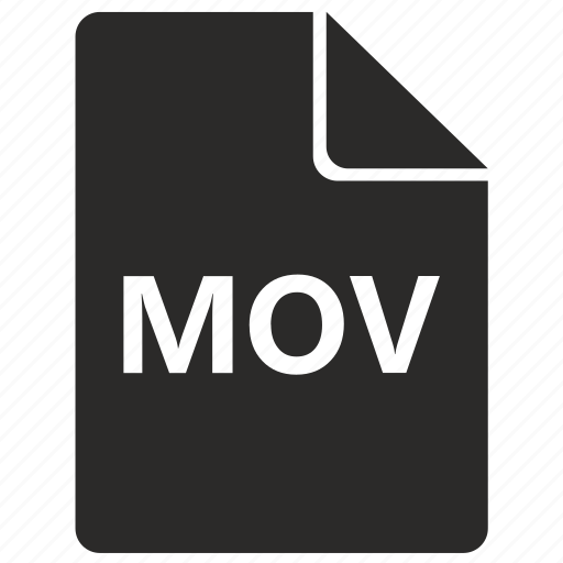 document, file, format, mov icon