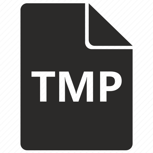 document, file, format, temp, tmp icon