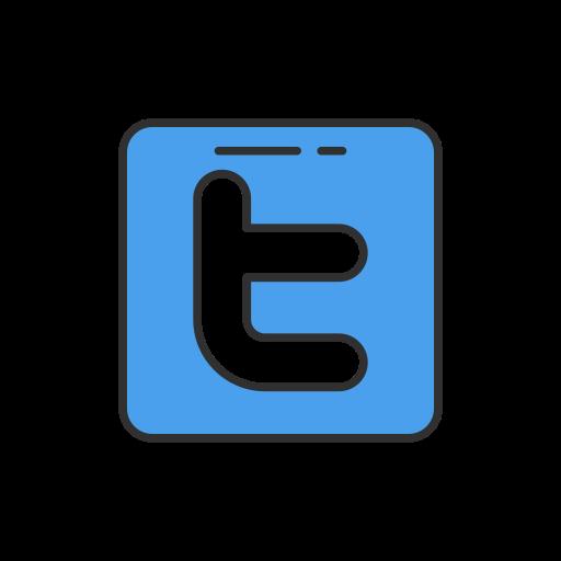 social media, twitter, twitter button, twitter logo icon