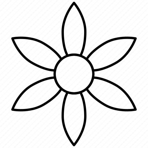 bloom, flower, herb, nature icon