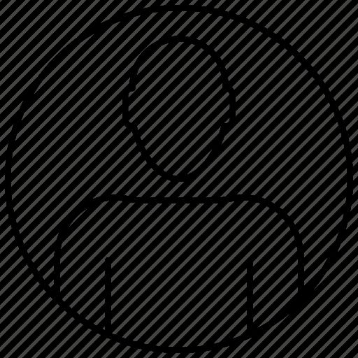 avatar, face, head, profile, user icon