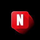 logo, netflix icon