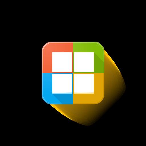 logo, microsoft icon