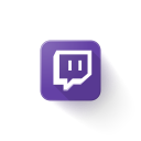 logo, twitch icon