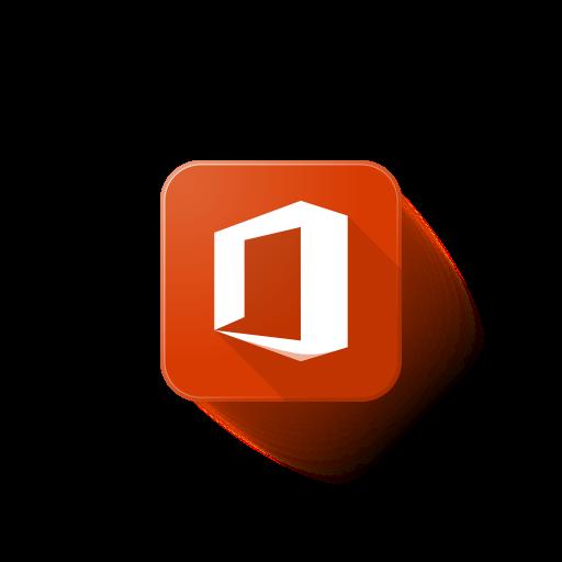 logo, microsoft, office icon