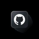 git, github, hub, logo icon