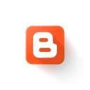 blogspot, logo icon