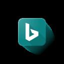 bing, logo, microsoft icon