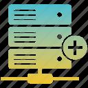 backup, cloud, data, database, network, server, storage icon
