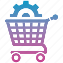 commerce, ecommerce, finance, online, optimization, shop, shopping icon