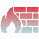 firewall, privacy, protection, safe, secure, security, shield icon