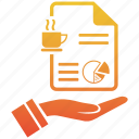 content, document, fresh, marketing, online, page, web icon