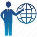 business, finance, global, internet, marketing, online, web icon
