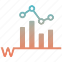 business, chart, find, keyword, magnifier, rankings, search icon