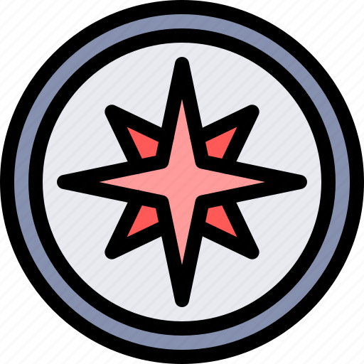 compass, country, europe, nation, portugal icon