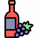 country, europe, nation, portugal, wine icon