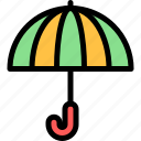country, europe, nation, portugal, umbrella icon