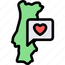 country, europe, nation, portugal icon
