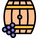 barrel, country, europe, nation, portugal icon
