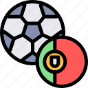country, europe, football, nation, portugal icon