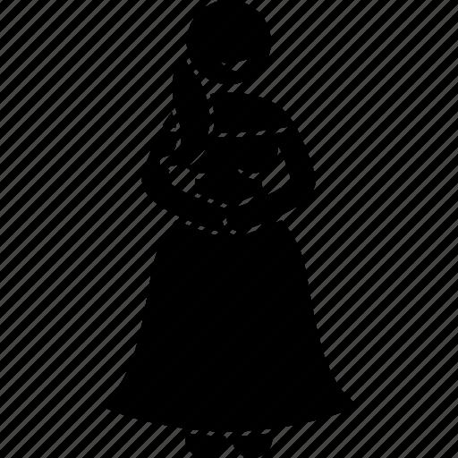 lady, ladylike icon