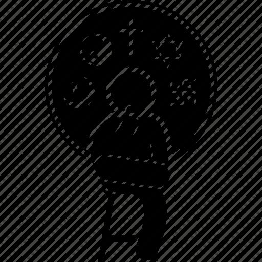 atheist, latitudinarian, man, person, religion, religious icon