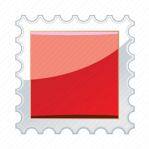 mail, post, postal, postmark, send icon