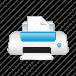 painting, paper, print, printer, printing icon