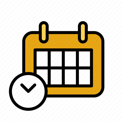 calendar, mail, office, post, service, time icon