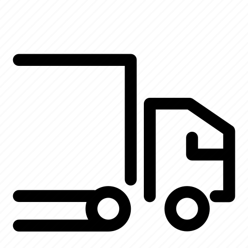 deliver, delivery, icons, post, postage, truck, van icon
