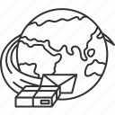 worldwide, international, cargo, shipping, service